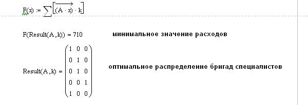 Построение моделей  линейного программирования