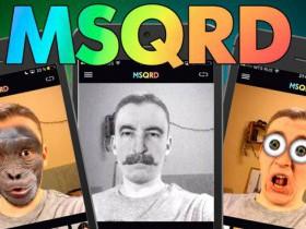 MSQRD - веселое приложение для смартфона