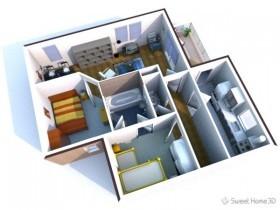 Бесплатная программа Sweet Home 3D для моделирования интерьера
