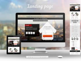 Лендинг - сайт с одной страницей