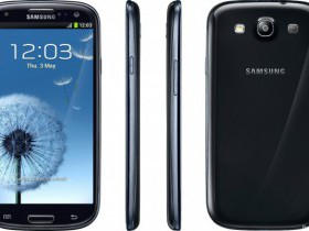 Смартфон SAMSUNG I9300 Galaxy S III Black 16Gb