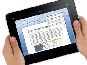 Самые популярные приложения Microsoft Office для iPad
