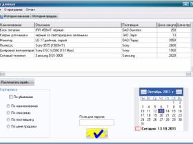 Создание информационно-аналитической системы управления базой данных магазина электроники