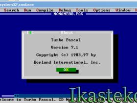 Лабораторные работы Turbo Pascal. Скачать Turbo Pascal 7.1