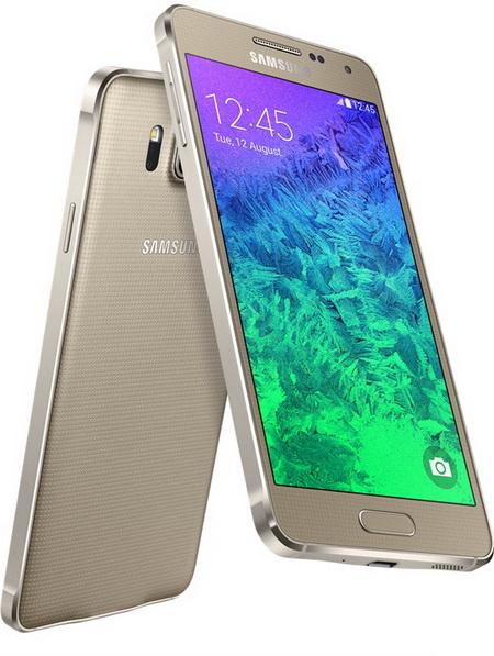 Samsung представил свой новый смартфон Galaxy Alpha